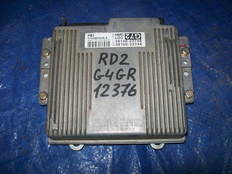 Блок управления двигателем Hyundai Coupe RD2 G4GR 1999