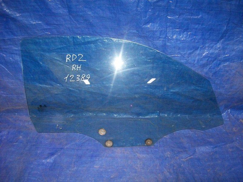 Стекло двери Hyundai Coupe RD2 G4GR 1999 переднее правое