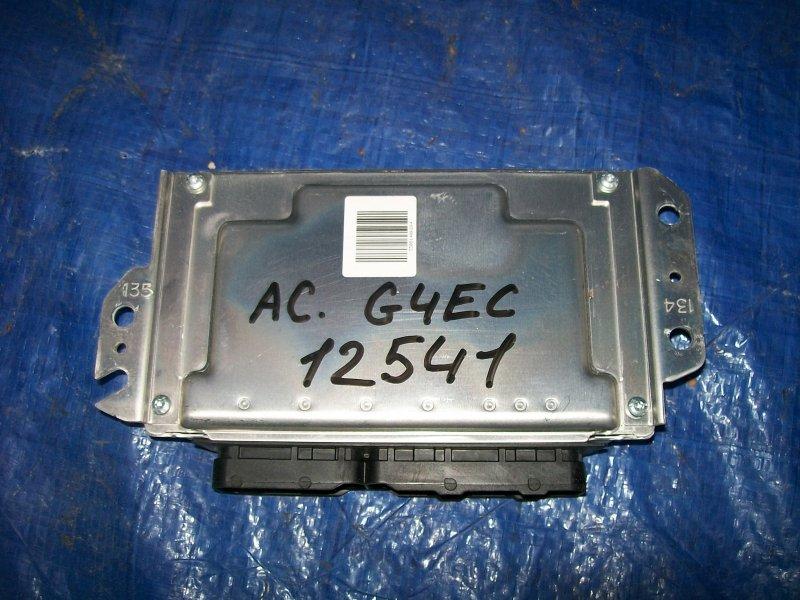 Блок управления двигателем Hyundai Accent G4EC 2008