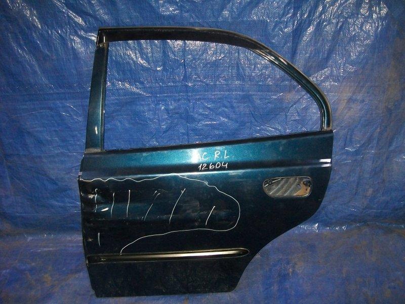 Дверь Hyundai Accent G4EC 2008 задняя левая