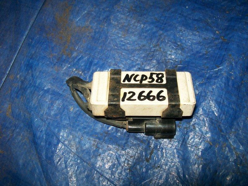 Резистор вентилятора охлаждения Toyota Probox NCP58 1NZ-FE 2003