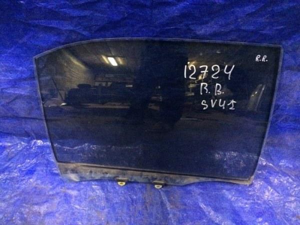 Стекло двери Toyota Camry SV41 3S-FE 1996 заднее правое