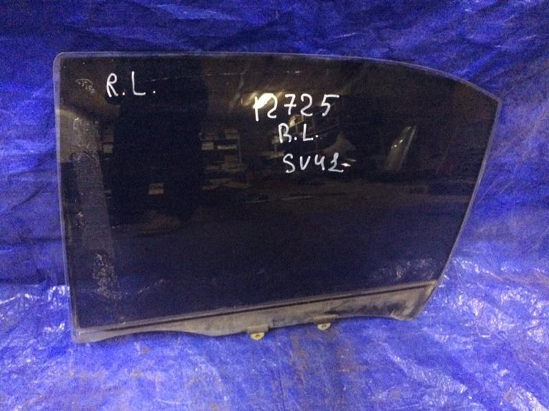 Стекло двери Toyota Camry SV41 3S-FE 1996 заднее левое