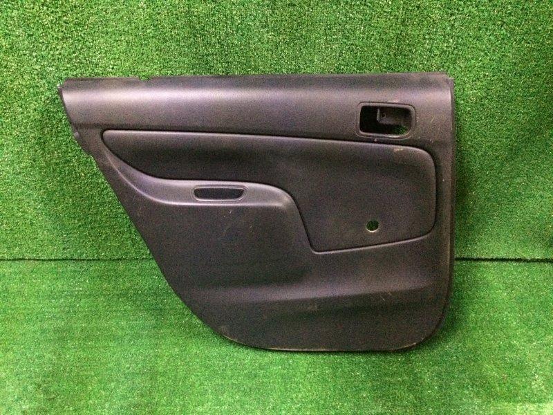 Обшивка двери Toyota Probox NCP58 1NZ-FE 2003 задняя левая