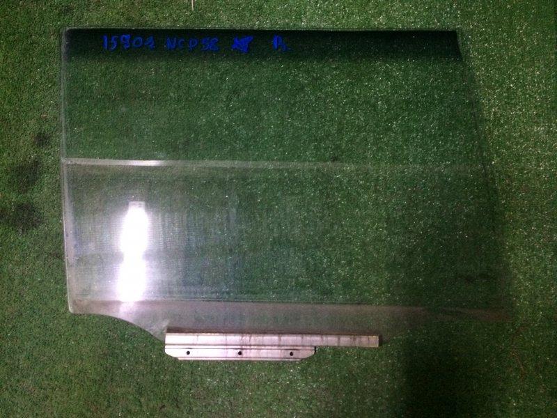 Стекло двери Toyota Probox NCP58 1NZ-FE 2003 заднее правое