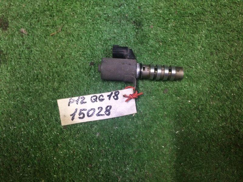 Клапан изменения фаз Nissan Primera P12 QG18 2002