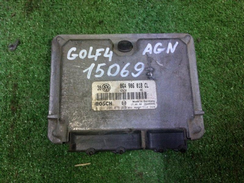 Блок управления двигателем Volkswagen Golf 4 MK4 AGN 2000