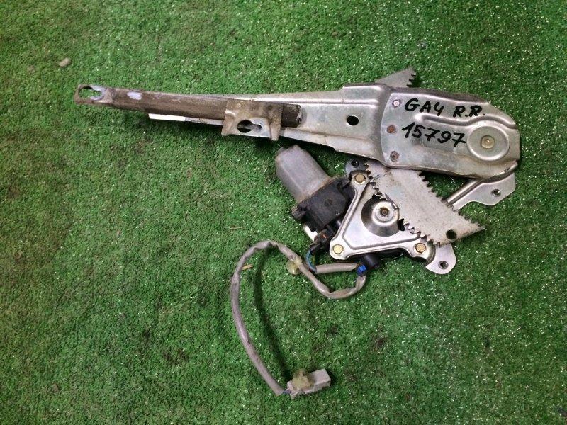 Стеклоподъемник Honda Capa GA4 D15B 1999 задний правый