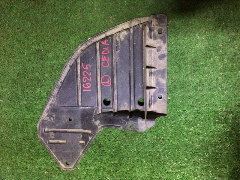 Защита бампера Mitsubishi Lancer Cedia CS5W 4G93 2001 передняя левая