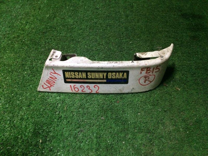 Накладка под фонарь Nissan Sunny FB15 QG15 2000 задняя правая