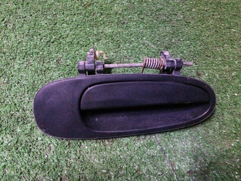 Ручка двери наружняя Toyota Corolla EE101 4E 1992 задняя правая
