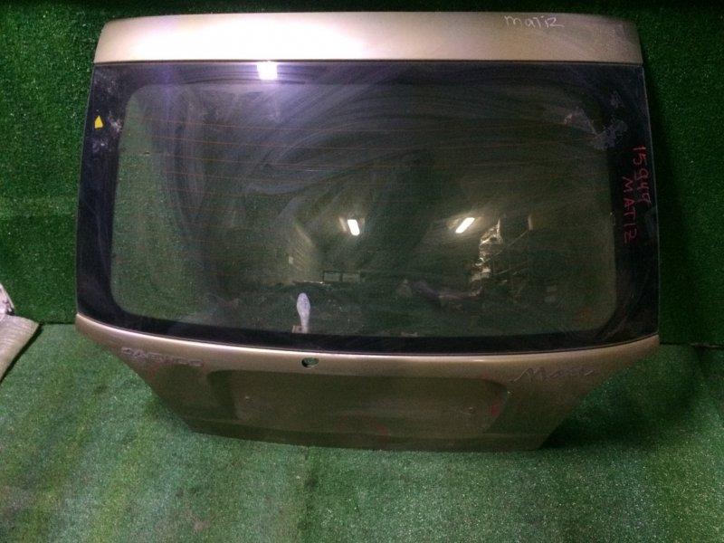 Крышка багажника Daewoo Matiz M100 F8CV 2008