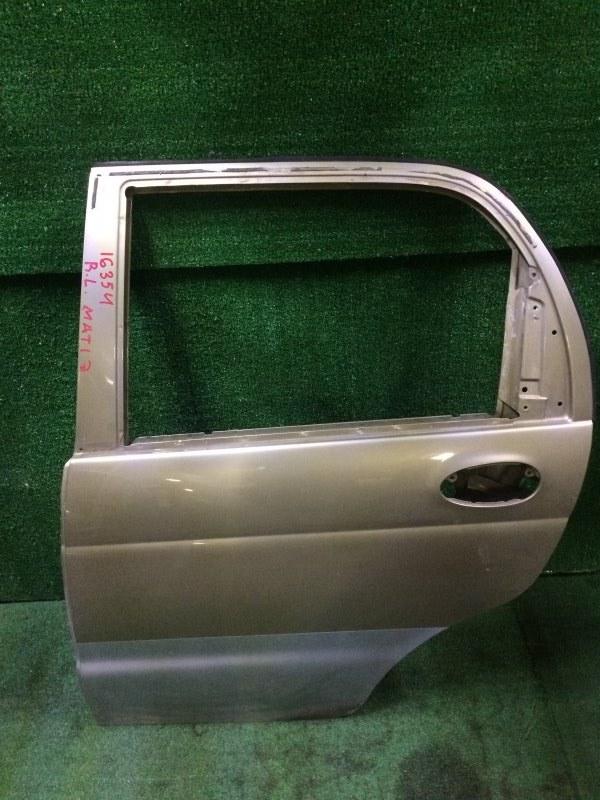 Дверь Daewoo Matiz M100 F8CV 2008 задняя левая