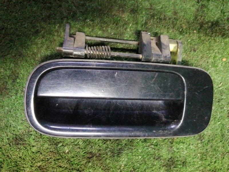 Ручка двери наружняя Toyota Camry SV35 3S-FE 1993 задняя левая