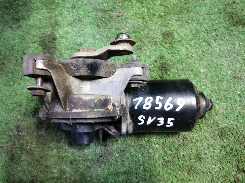 Мотор стеклоочистителя Toyota Camry SV35 3S-FE 1993 передний
