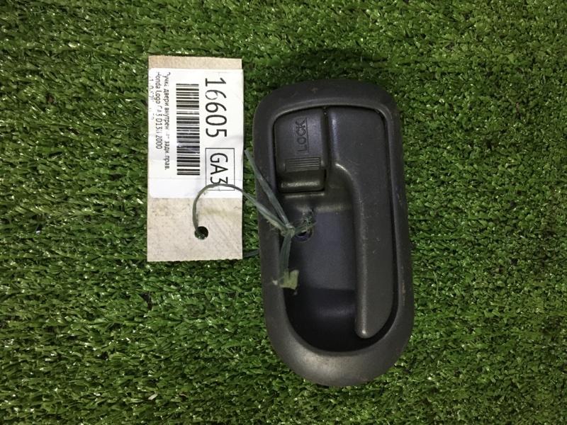 Ручка двери внутренняя Honda Logo GA3 D13B 2000 задняя правая