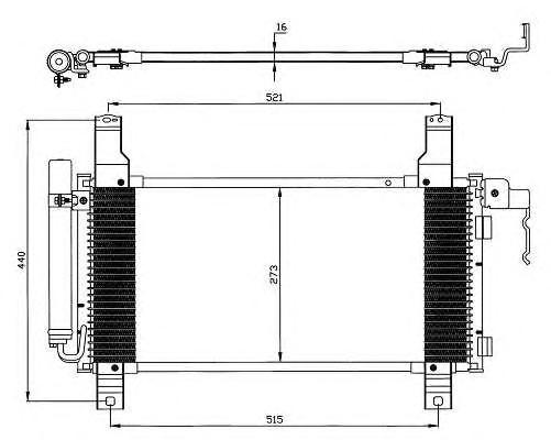 Радиатор кондиционера Mazda Atenza GG3P 02