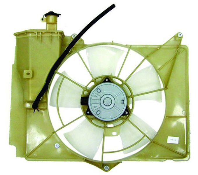 Диффузор радиатора Toyota Vitz / Platz / Fun Cargo / Bb / Porte / Ist / Probox / Succeed 1 / 2Nz-Fe 00- 02