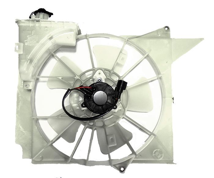 Диффузор радиатора Nissan Vitz 1SZ-2SZ