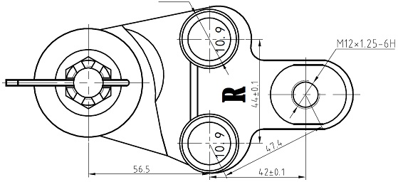 Шаровая опора Toyota Camry ES240 06 правая