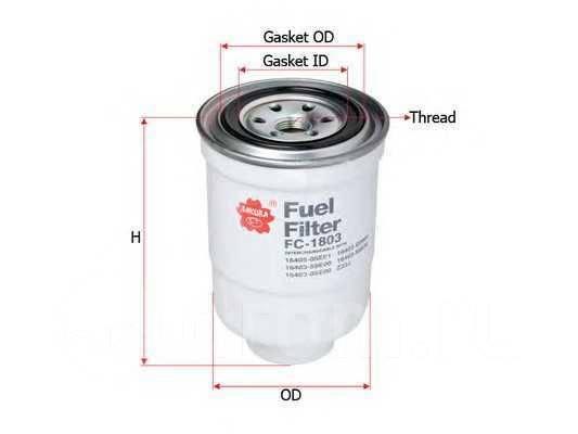 Топливный фильтр Mazda Mx-5