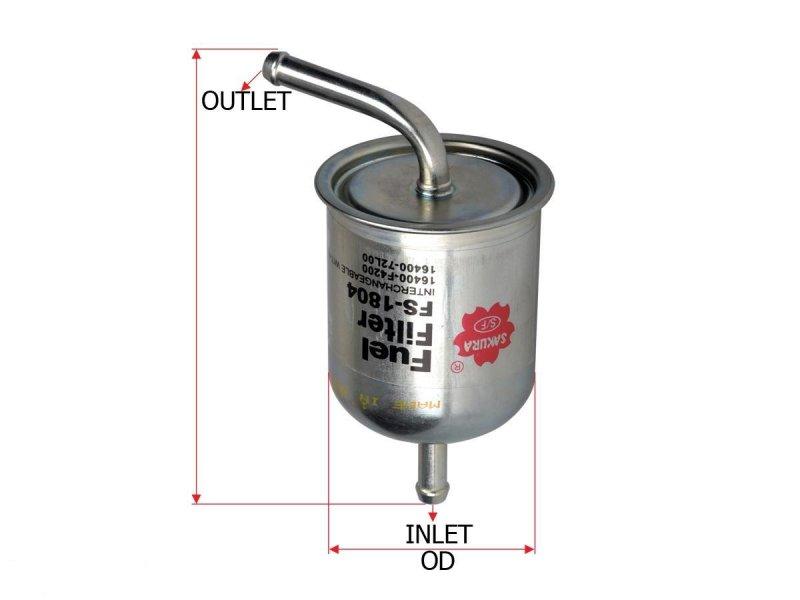 Топливный фильтр Nissan Bluebird