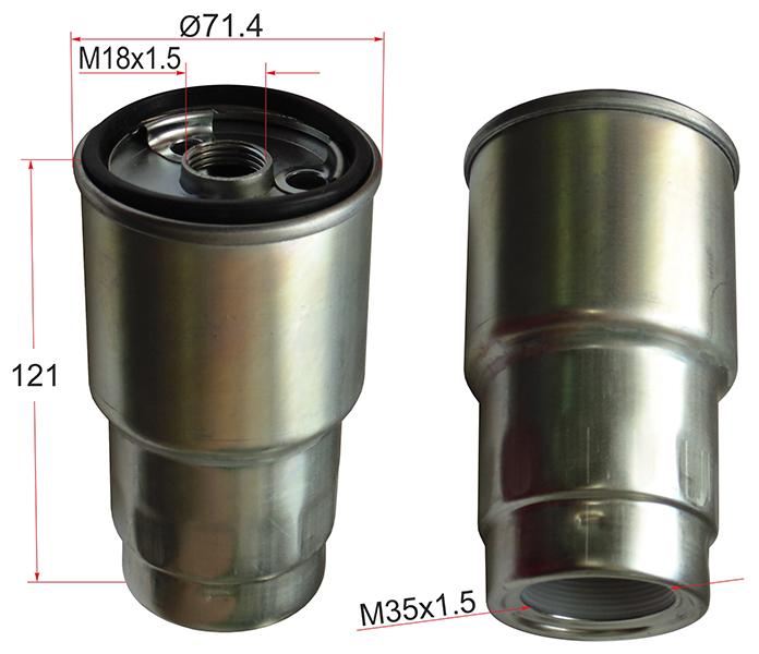 Топливный фильтр Toyota Corona 2C. 3C. 2LT