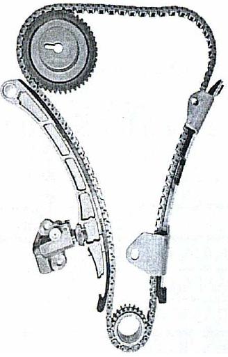 Комплект цепи грм Mazda Demio M3 ZJ 02