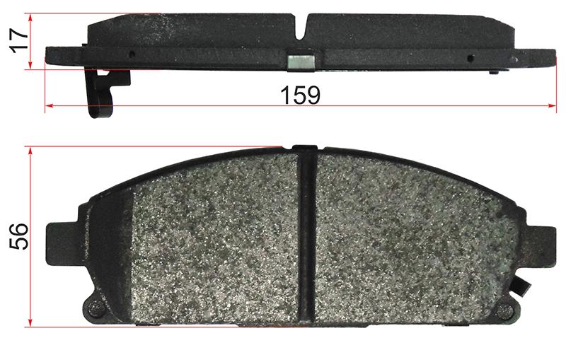 Колодки Nissan X-Trail Р12