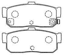 Колодки Nissan Bluebird U14 96 задние