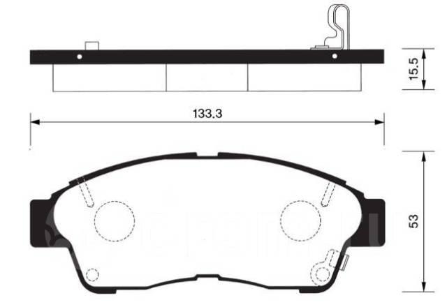 Колодки Toyota Rav4 ST190