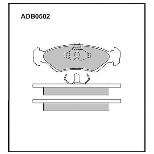 Колодки Mazda Familia 323