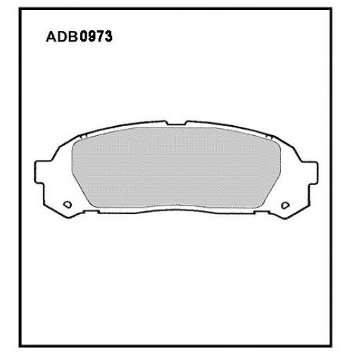 Колодки Honda Gx90 задние