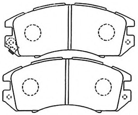 Колодки Subaru Impreza