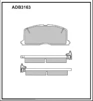 Колодки Toyota Camry AE95