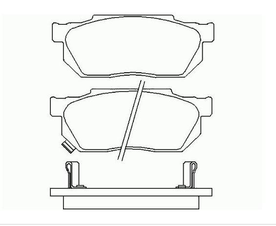 Колодки Honda Accrod EK3