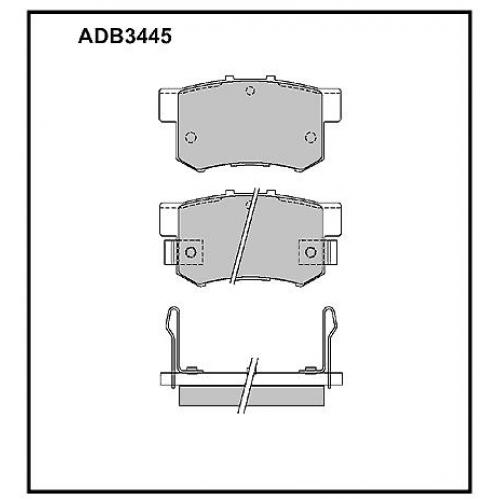 Колодки Honda Accord задние