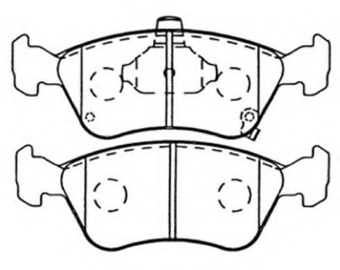 Колодки Toyota Avensis 220
