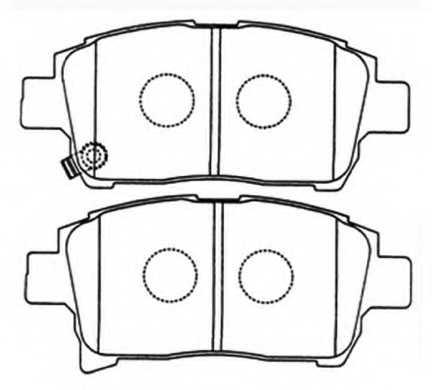 Колодки Toyota Funcargo