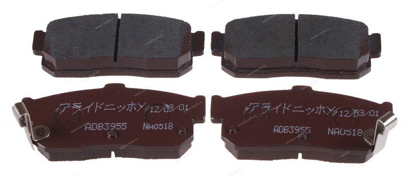 Колодки Nissan Bluebird HU13