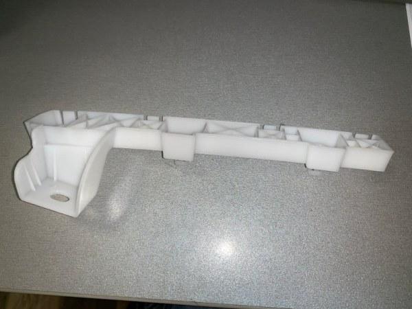 Кронштейн крепления бампера Mitsubishi Lancer X CY4A 07 передний левый
