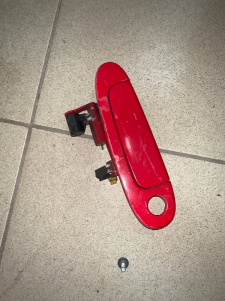 Ручка двери Toyota Vitz NCP10 передняя правая