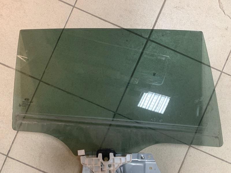 Стекло двери Kia Sportage SL 10 заднее правое