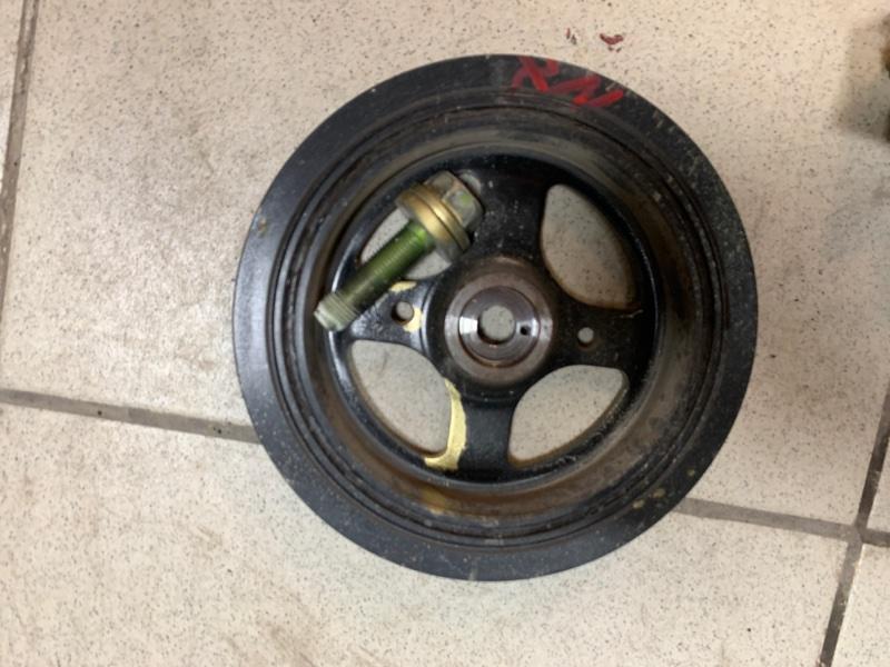Шкив коленвала Toyota Corolla Fielder NZE141 1NZFE