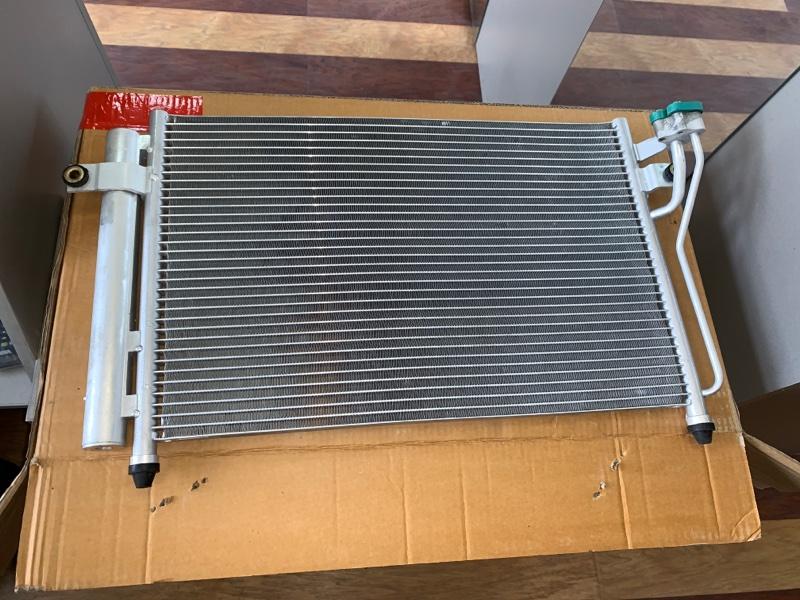 Радиатор кондиционера Hyundai Getz 02