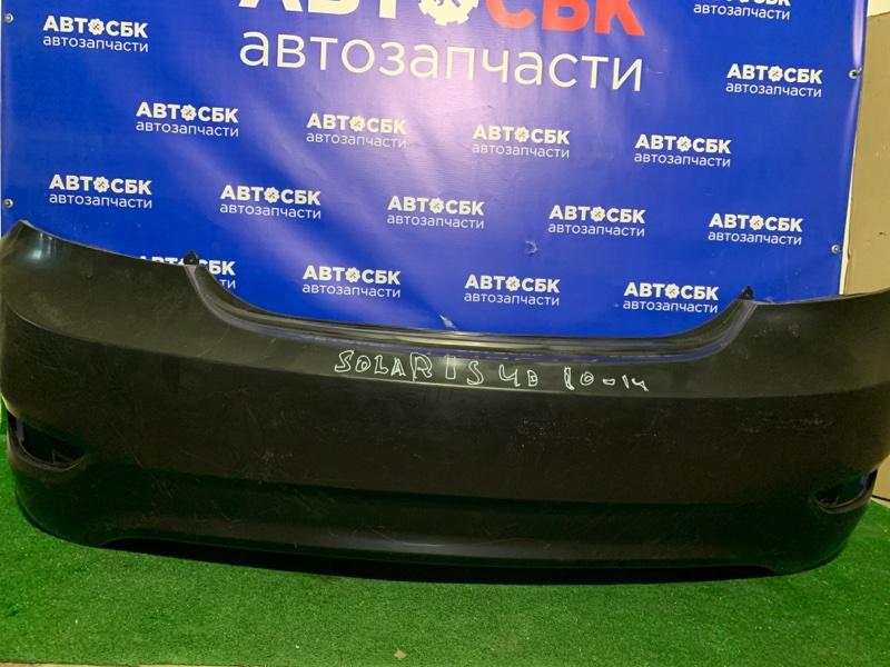 Бампер Hyundai Solaris 10 задний