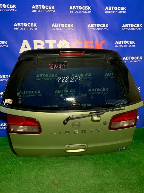 Дверь задняя Nissan Liberty PM12 задняя