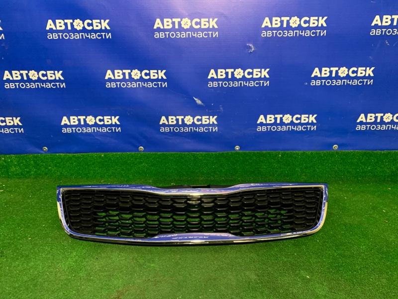 Решетка радиатора Kia Rio 2015 передняя