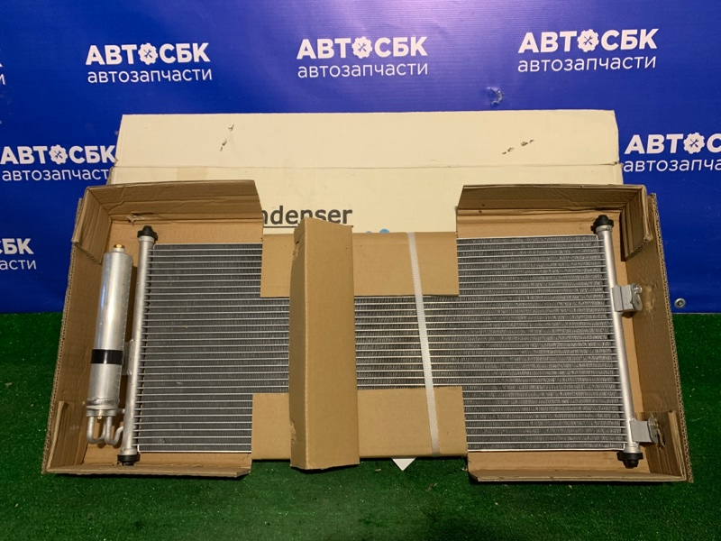 Радиатор кондиционера Nissan Almera N16E F9Q