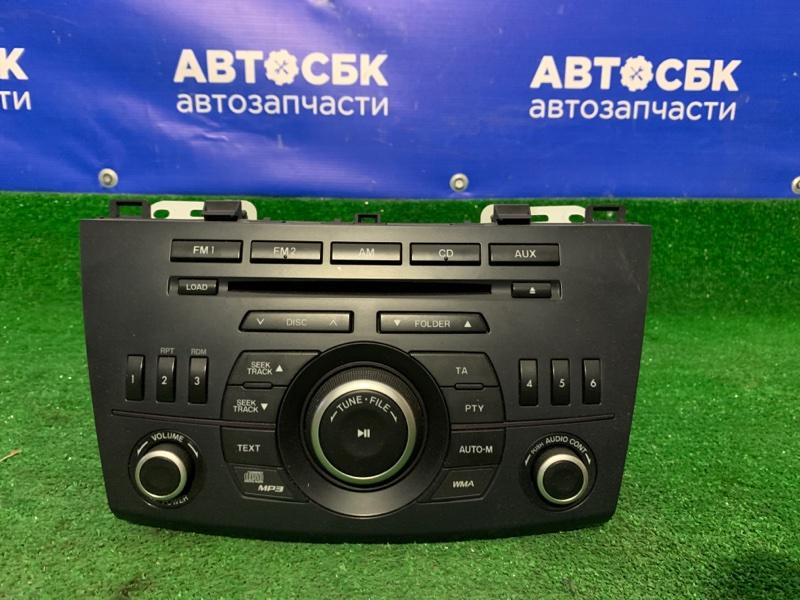 Магнитола Mazda 3 BL12F BLA2Y
